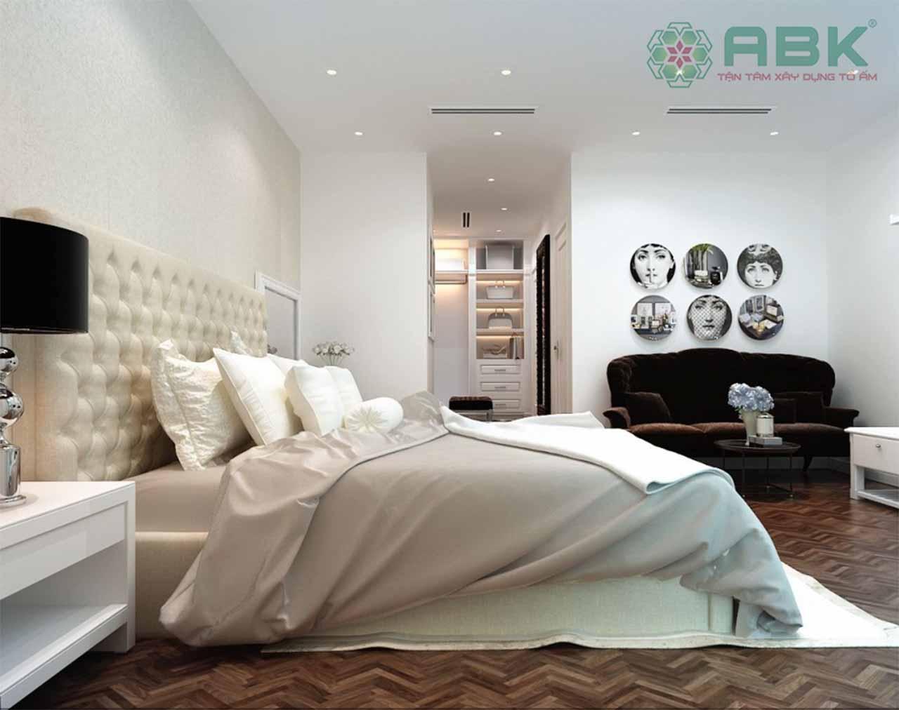 Lựa chọn mẫu thiết kế nội thất chung cư hai phòng ngủ
