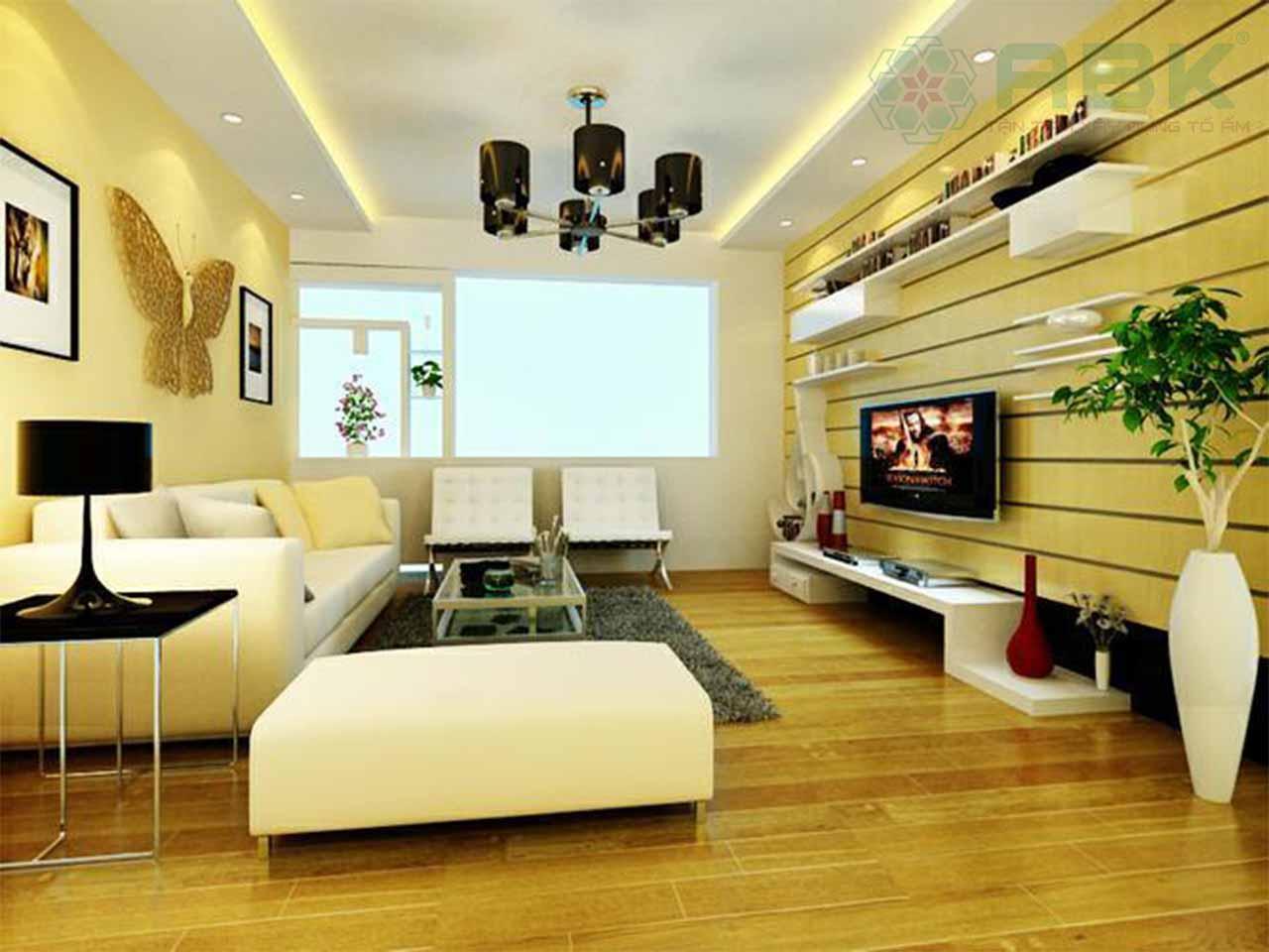 Cách bố trí nội thất nhà chung cư 75m2 không phải ai cũng biết