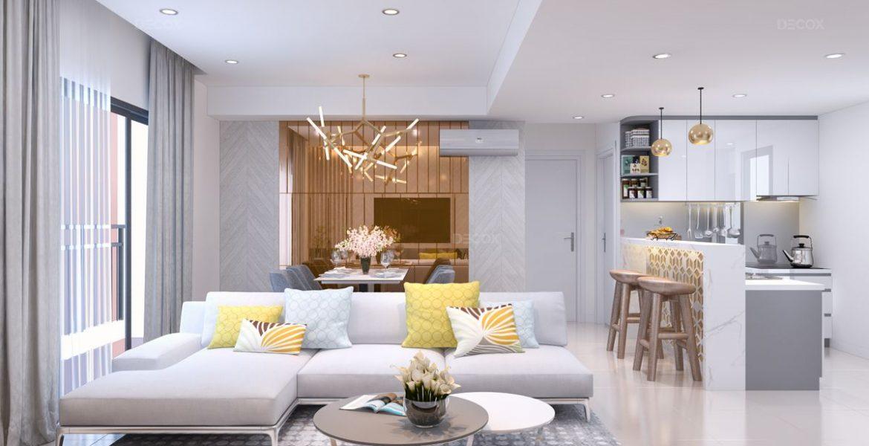 Phong cách thiết kế nội thất căn hộ mới nhất