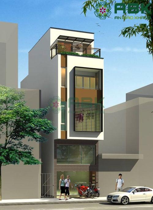 Ngắm nhìn mẫu thiết kế nhà phố 4 tầng rưỡi tuyệt đẹp M10