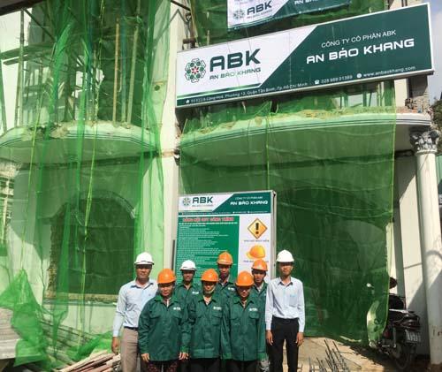 Cải tạo nâng tầng nhà Anh Tuấn Vườn Lài