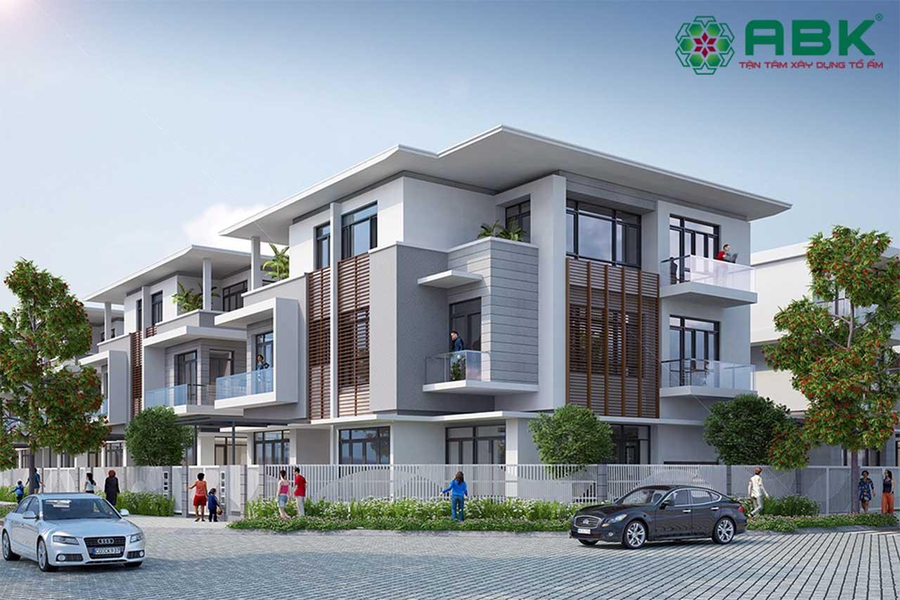 Thiết kế biệt thự song lập phù hợp với lối kiến trúc mới