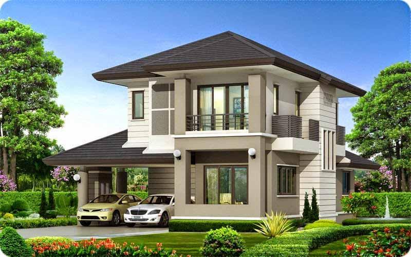 Thiết kế biệt thự vườn 2 tầng đẹp
