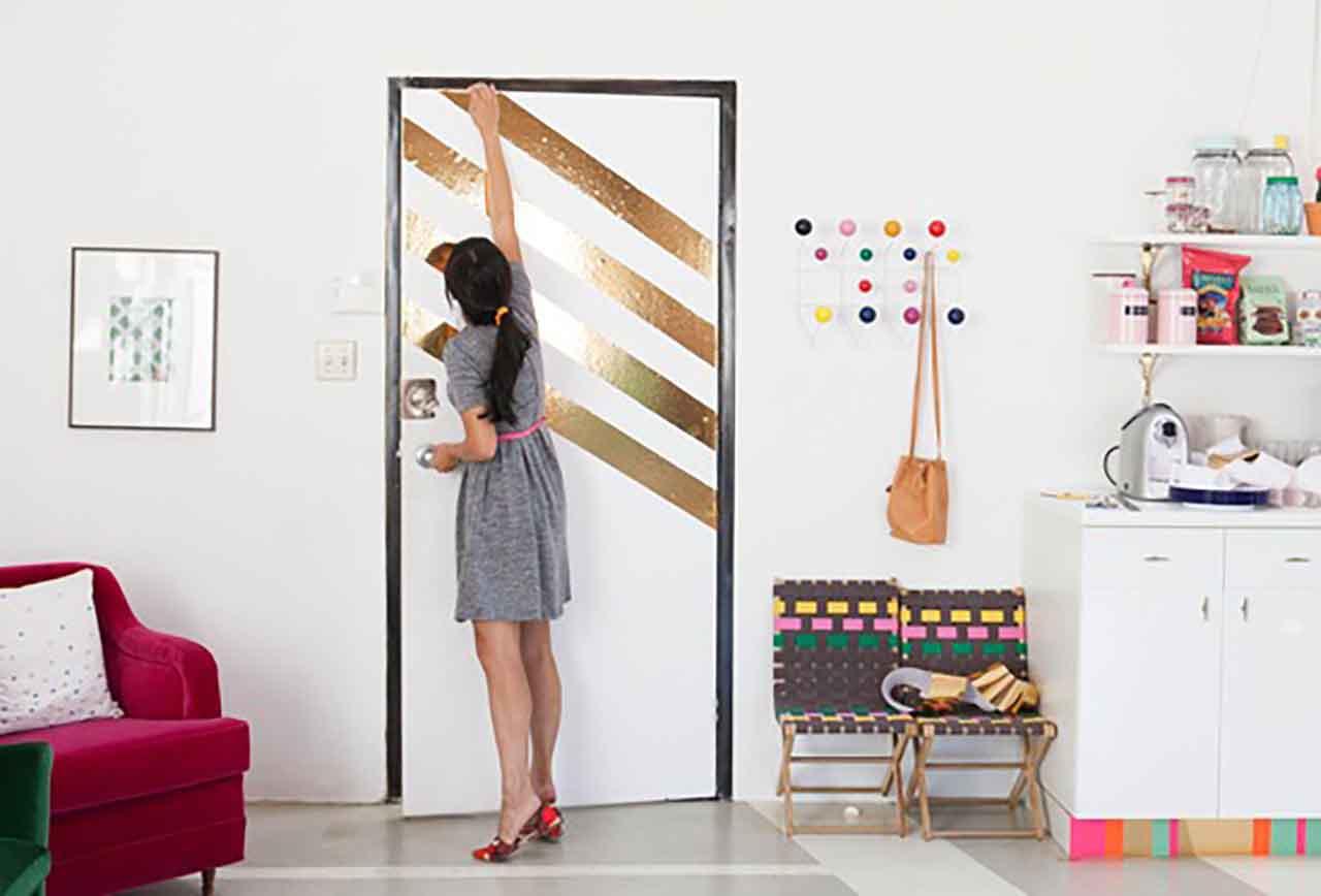 Trang trí nhà đẹp với giấy dán tường