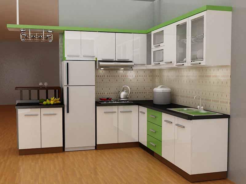 Thiết kế nội thất nhà bếp chung cư với nhiều cách