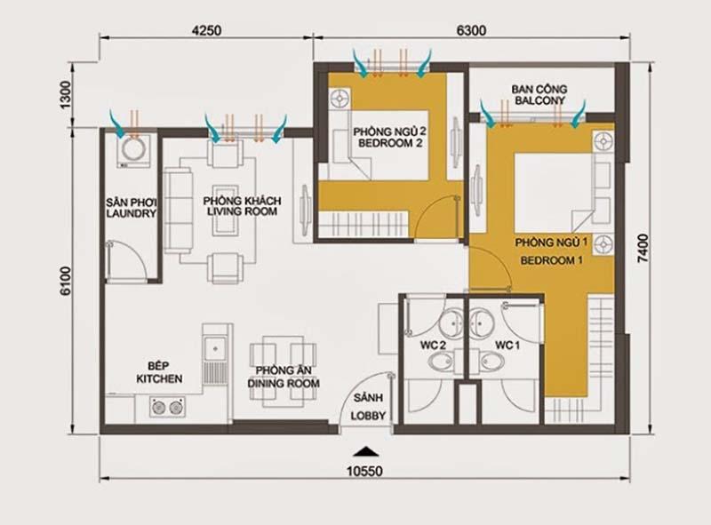 đơn giá thiết kế nội thất
