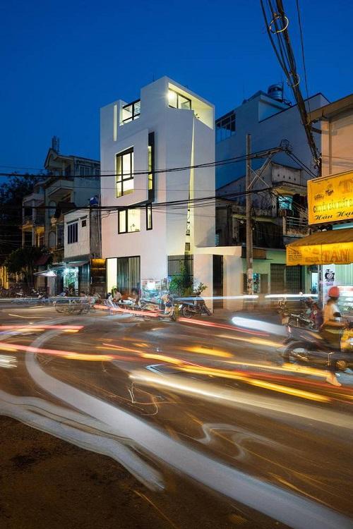 Mẫu thiết kế nhà phố 3x9m 27m2