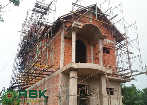 Xây dựng nhà biệt thự tại huyện hóc môn