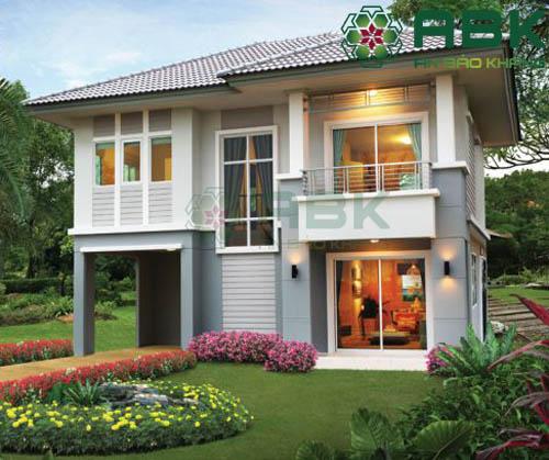Tham quan mẫu thiết kế nhà biệt thự 2 tầng đẹp mê mẩn M20