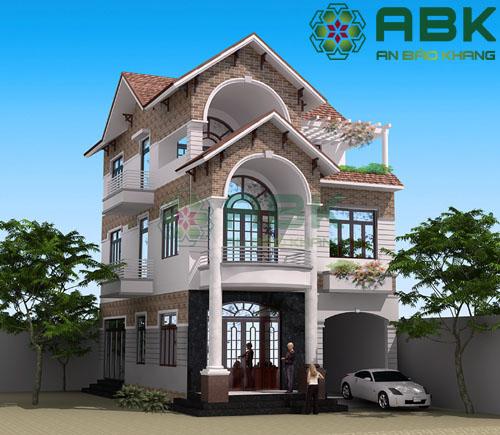 Cách tính diện tích xây dựng nhà ở dân dụng