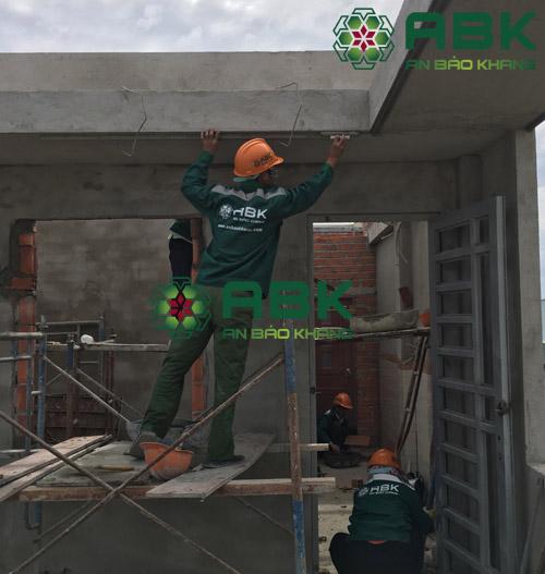 Xây dựng nhà phố 3 tầng tại quận 12