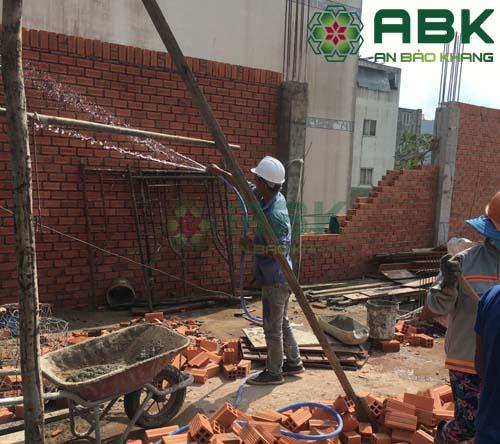 Bảo dưỡng tường xây gạch