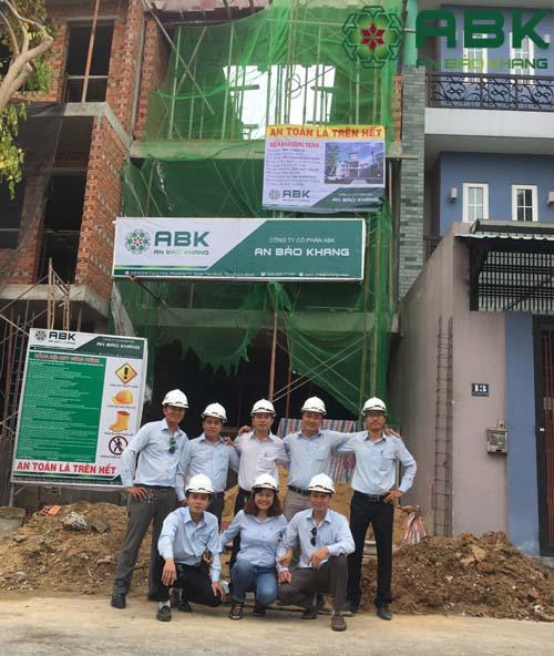 Xây dựng nhà 3 tầng nhà chị ngân quận Thủ Đức