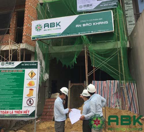 Xây dựng nhà 3 tầng nhà chị Ngân Quận Thủ Đúc