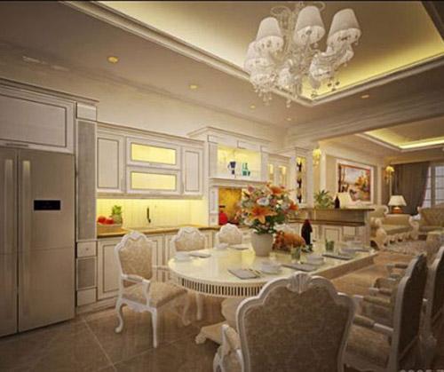 Phong cách thiết kế nội thất biệt thự tân cổ điển mới nhất