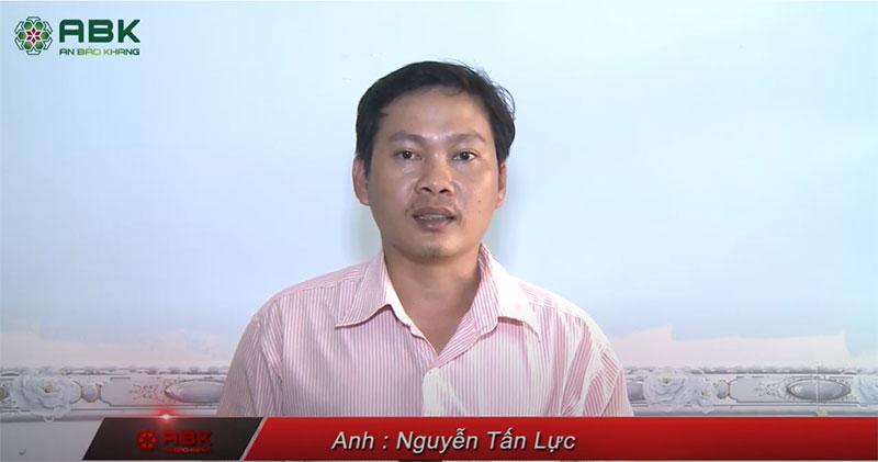 Xây nhà trọn gói anh Nguyễn Tấn Lực quận 12