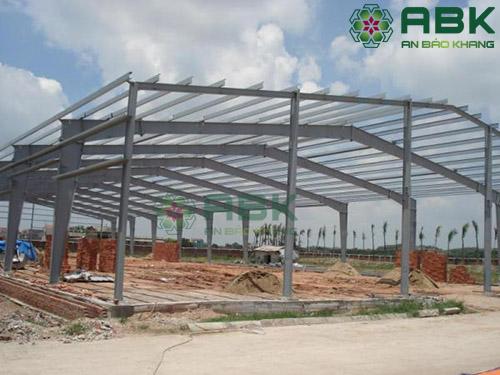 Xây dựng nhà xưởng có thể tận dụng lại toàn bô khung kèo thép khi di chuyển nhà xưởng đến vị trí khác.