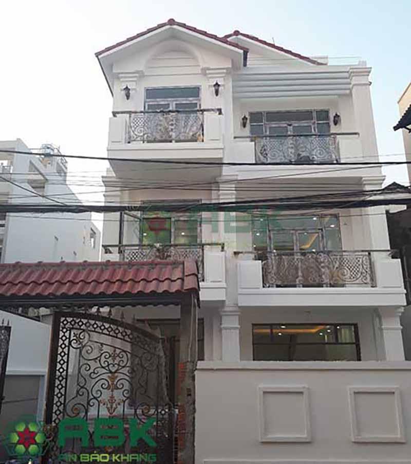 Sửa chữa cải tạo nâng tầng nhà ở An Bảo Khang