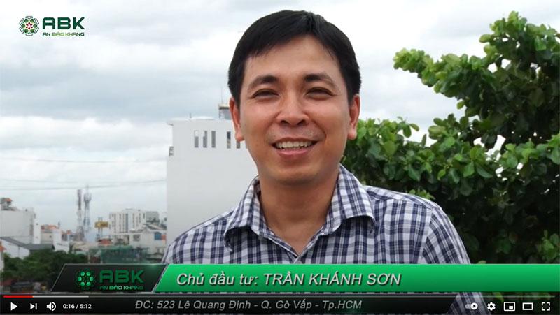 Xây dựng nhà trọn gói – Gia đình Anh Sơn quận Gò Vấp