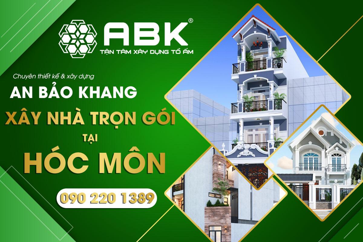 Đơn giá thiết kế xây dựng nhà tại Huyện Hóc Môn