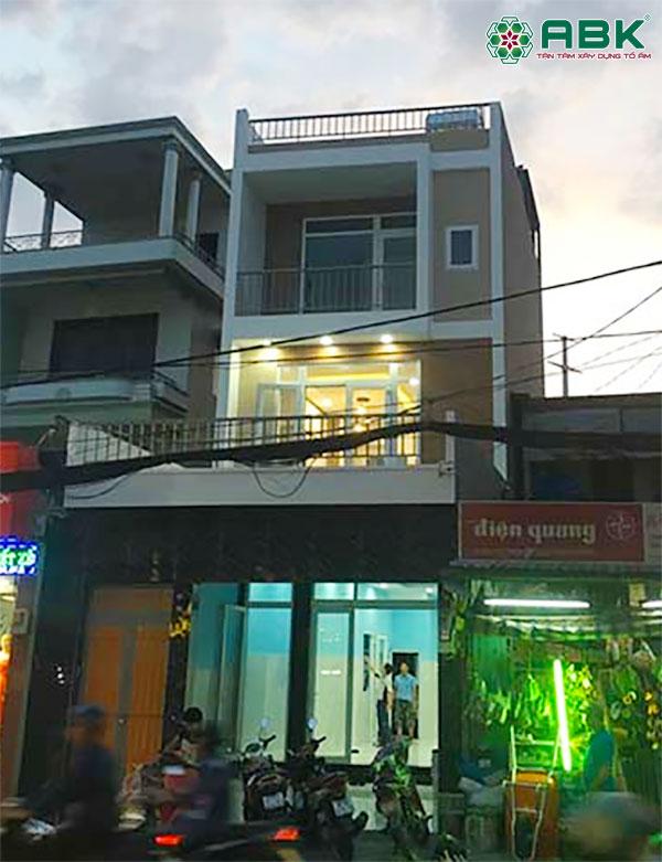 Xây nhà 3 tầng nhà anh Sơn Gò Vấp