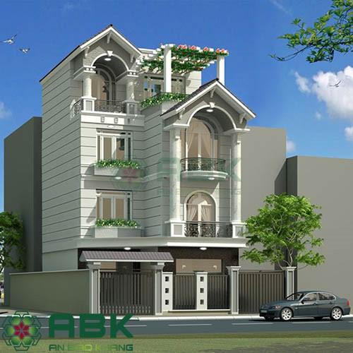 Xu hướng thiết kế nhà phố mái thái sang trọng hiện đại