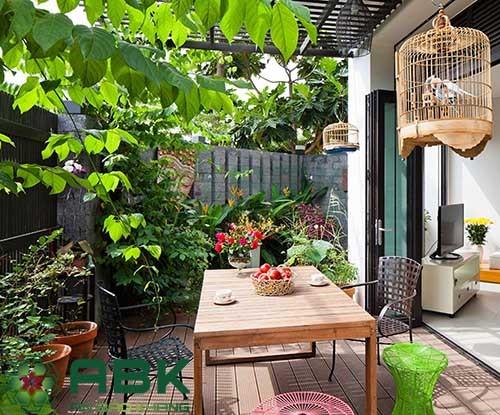 Xu hướng thiết kế khu vườn nhỏ trước nhà