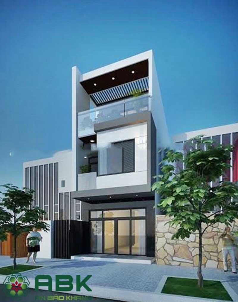 Một số mẫu nhà phố 2 tầng đẹp nhất hiện nay