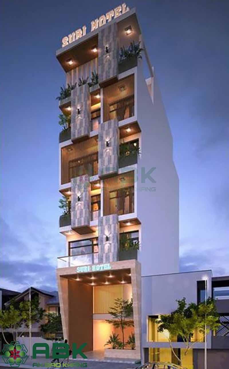 Ngắm nhìn khách sạn 3 sao kết hợp để ở theo phong cách hiện đại