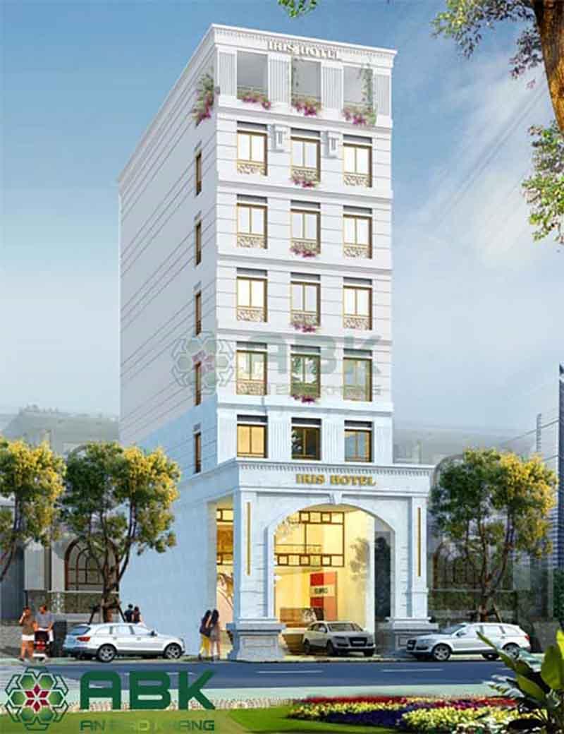 Những mẫu khách sạn 6 tầng
