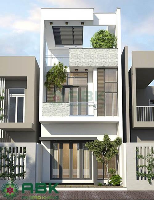 Thiết kế nhà phố ngang 5m dài 15m theo phong cách hiện đại