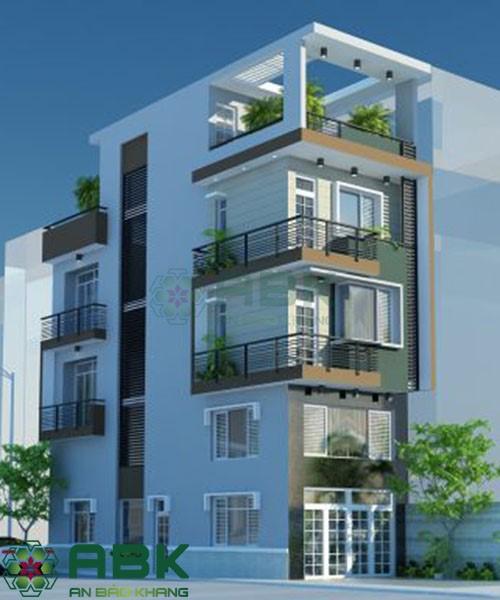 Xu thế thiết kế nhà phố 4 tầng hiện đại đẹp nhất
