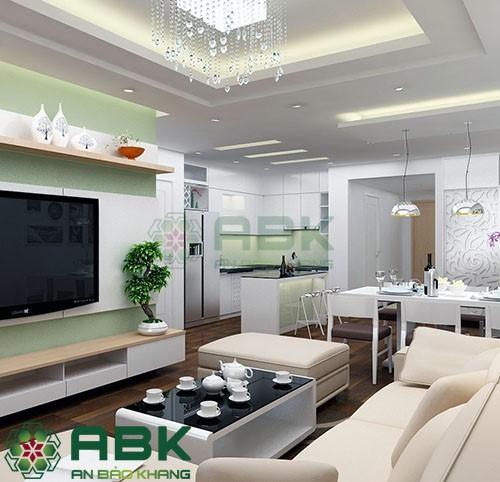 Xu hướng thiết kế nội thất phòng khách hiện đại sang trọng