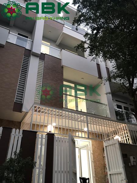 Xây dựng nhà phố 4 tầng trọn gói tại Quận Tân Phú