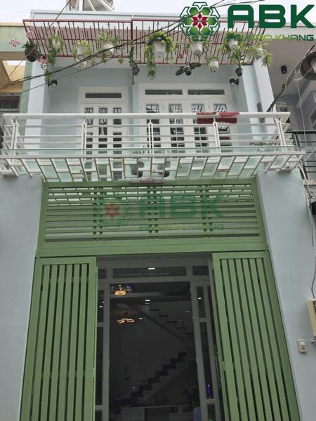 Nâng tầng nhà cấp 4 thành nhà 2 tầng tại quận 12 Tp. HCM