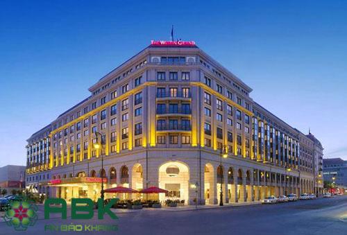 khách sạn 6 tầng mang phong cách châu âu
