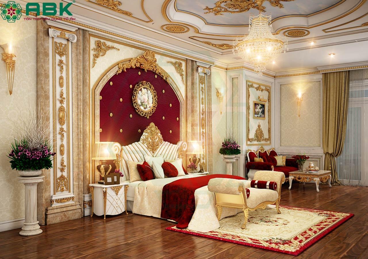 Mẫu đèn chùm trang trí phong cách cổ điển cho phòng ngủ