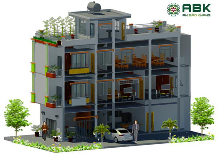 Mẫu nhà phố đẹp tại TPHCM