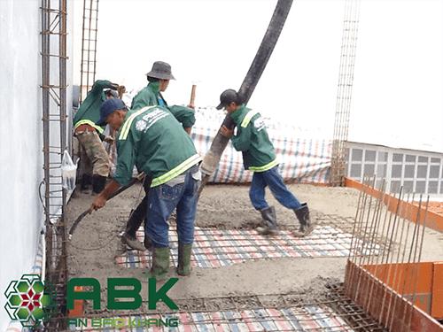 giá thi công xây dựng nhà phần thô