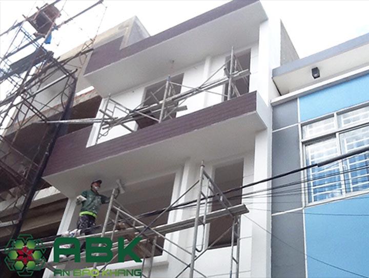 Xây nhà trọn gói 4 tầng 5x10m tại quận 12