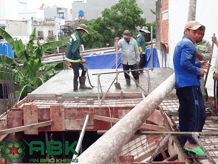 Xây dựng nhà trọn gói 4 tầng 4x18m tại Tân Bình, Tp.HCM