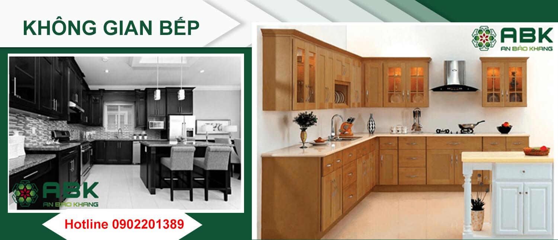 Không gian bếp là nơi cần cải tạo nhất khi Bạn sửa chữa nhà