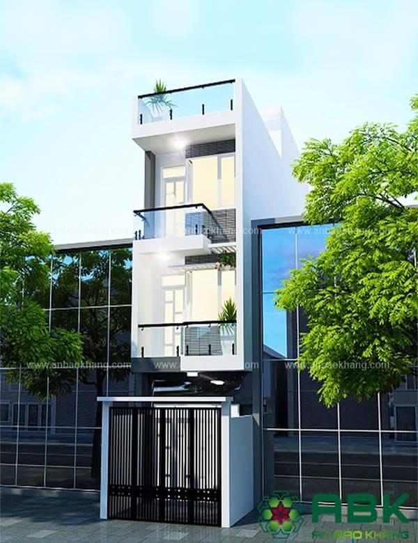 Mẫu thiết kế nhà phố M13 tại Quận Thủ Đức
