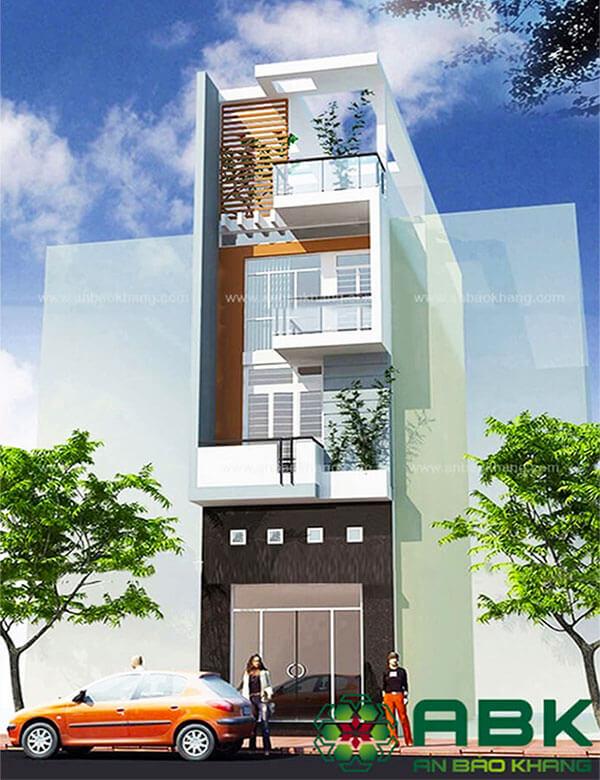 Mẫu thiết kế nhà phố tại Quận Tân Bình M14