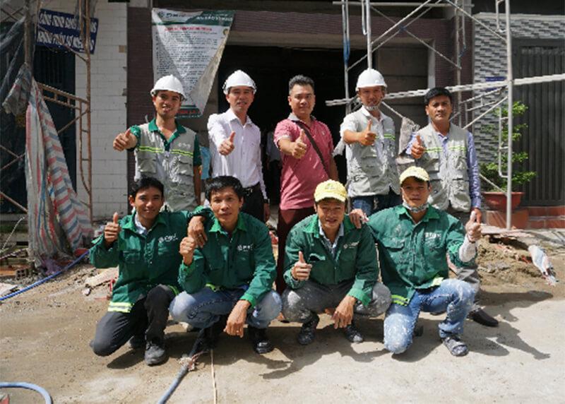 Đối với người lao động xây dựng nhà mới