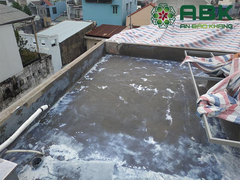 Quy trình chống thấm mái nhà