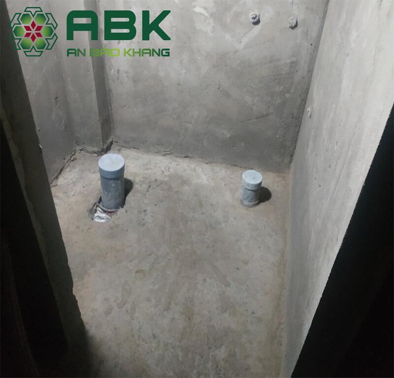 Quy trình chống thấm nhà vệ sinh hiệu quả