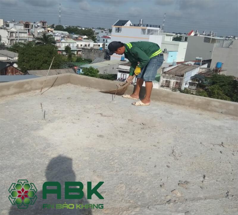 Quy trình chống thấm sàn mái hiệu quả nhất