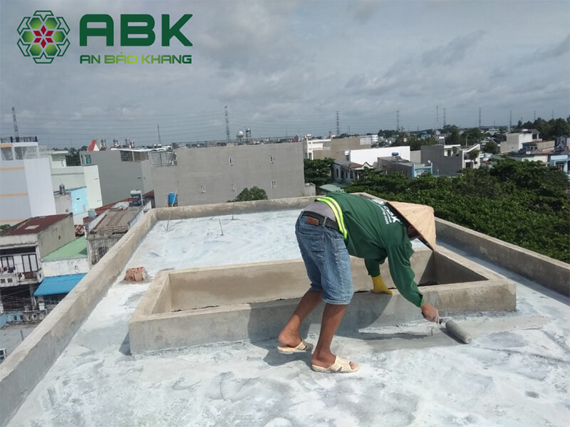 Quy trình chống thấm trong xây dựng nhà cửa
