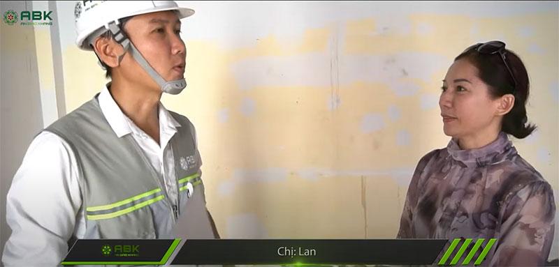 Sửa chữa nhà uy tín | chị Lan – Bình Thạnh